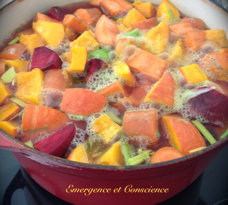 Les soupes d'automne : un délice !