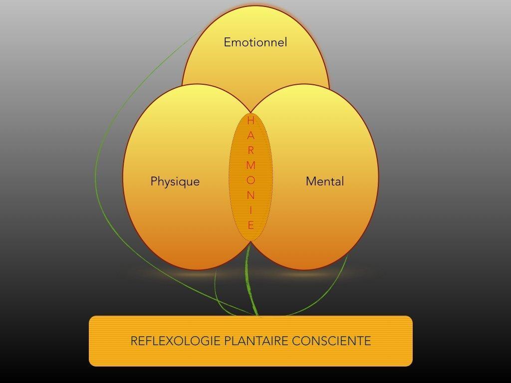 reflexologie plantaire consciente - medecine naturelle de santé